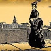 Renuar Peterburg Collage Poster
