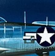 Republic P-47n Thunderbolt Poster