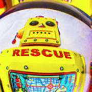 Rescue Yellow Bot Poster