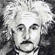 Resemblance To Einstein Poster