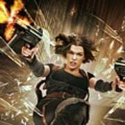 Resident Evil Afterlife Poster