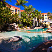 Resort Pool Poster