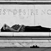 Rest Desire Not Poster