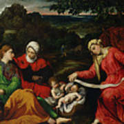Rest On The Flight Into Egypt Poster