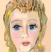 Retrato De Sarita Poster