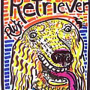 Retriever Poster by Robert Wolverton Jr