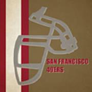 Retro 49ers Art Poster
