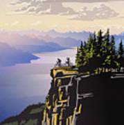 Retro Beautiful BC Travel poster Poster