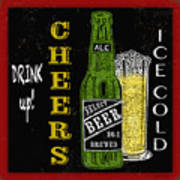 Retro Beer Sign-jp2915 Poster