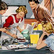 Retro Home Poster