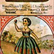 Retro Tobacco Label 1868 C Poster