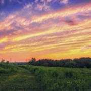 Retzer Nature Center - Summer Sunset #4  Poster