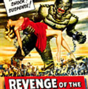 Revenge Of The Creature, 1955 Poster by Everett