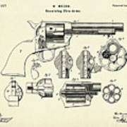 Revolving Fire Arm-1875 Poster