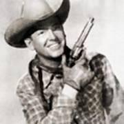 Rex Allen, Vintage Actor Poster