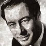 Rex Harrison, Vintage Hollywood Legend Poster
