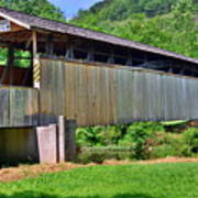 Claycomb Covered Bridge Poster