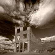 Rhyolite Nevada Ghost Town Poster