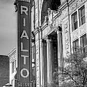 Rialto Square Theater Poster