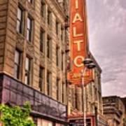 Rialto Square Theatre Poster