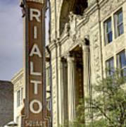Rialto Theater Poster