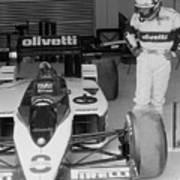 Riccardo Patrese. 1986 Spanish Grand Prix Poster