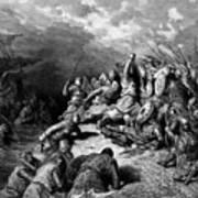 Richard I The Lionheart Delivering Jaffa 1877 Poster