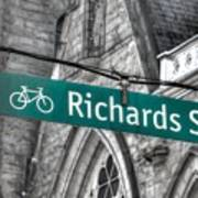 Richards Street Poster