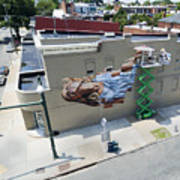 Richmond Mural Project James Bullough 2 Poster