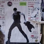 Ricky Martin In Concert Poster by Anna Villarreal Garbis