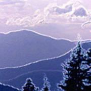 Ridge Layers 2 Pd2  Poster