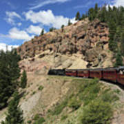 Riding The Cumbres And Toltec Poster