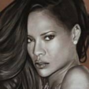 Rihanna Portrait Poster
