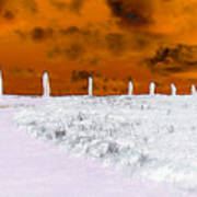 Ring Of Brodgar, Orkney Poster