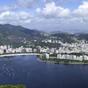 Rio De Janiero Aerial Poster