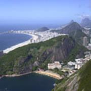 Rio De Janiero Morning Poster