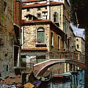 Rio Degli Squeri Poster by Guido Borelli