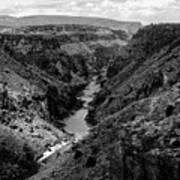 Rio Grande Carved Canyon 2 Poster