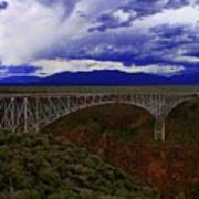 Rio Grande Gorge Bridge Poster