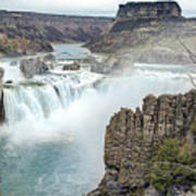 Ripping Shoshone Falls Poster