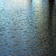Ripples And Reflections Abstract Poster