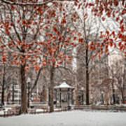 Rittenhouse Snowscape Poster