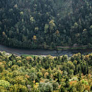 River Dunajec In Pieniny Mountains Poster