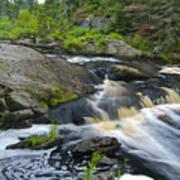 River Flow V Poster