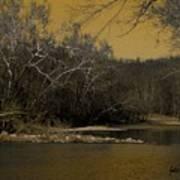 River Glow Poster