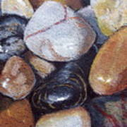 River Stones Poster