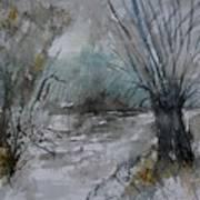River Watercolor 711082 Poster