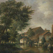 River Wensum, Norwich Poster