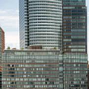 Riverhouse, One Rockefeller Park At 2 River Terrace In Battery Park City Poster