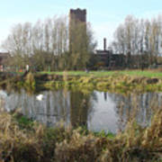 Riverside Walk - Burton On Trent Poster
